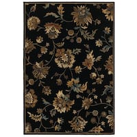 Rizzy Home Chateau Abstract Rug (6'7 x 9'6)