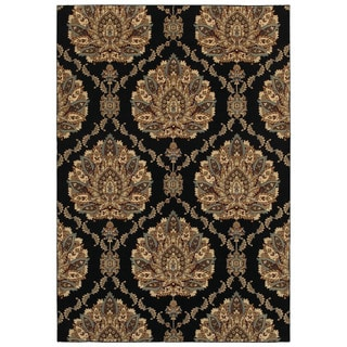 Rizzy Home Chateau Abstract Area Rug (5'3 x 7'7)