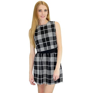 Relished Women's Mad About Plaid Top and Skirt Set