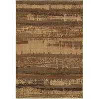 Rizzy Home Bellevue Abstract Rug - 5'3 x 7'7