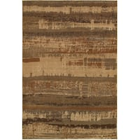 Rizzy Home Bellevue Abstract Rug (5'3 x 7'7)