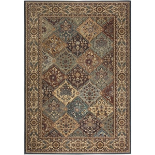 Rizzy Home Bellevue Multi Abstract Area Rug (9'2 x 12'6)