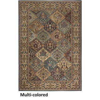 Rizzy Home Bellevue Multi Abstract Area Rug (7'10 x 10'10)