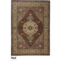Rizzy Home Bellevue Red Abstract Area Rug - 3'3 x 5'3