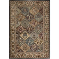 Rizzy Home Bellevue Multi Abstract Area Rug - 3'3 x 5'3