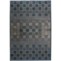 Rizzy Home Bellevue Blue Abstract Area Rug - 3'3 x 5'3
