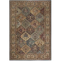 Rizzy Home Bellevue Multi Abstract Area Rug (6'7 x 9'6)