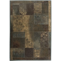 Rizzy Home Bellevue Abstract Area Rug (6'7 x 9'6) - 6'7 x 9'6
