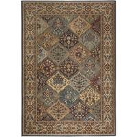 Rizzy Home Bellevue Multi Abstract Area Rug (5'3 x 7'7)