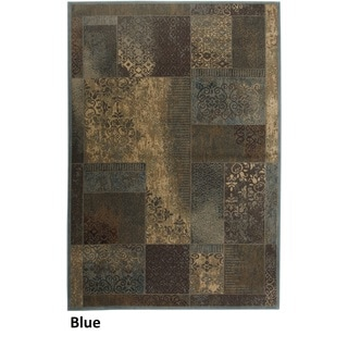 Rizzy Home Bellevue Abstract Area Rug (5'3 x 7'7)