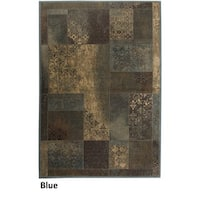 Rizzy Home Bellevue Abstract Area Rug (5'3 x 7'7) - 5'3 x 7'7
