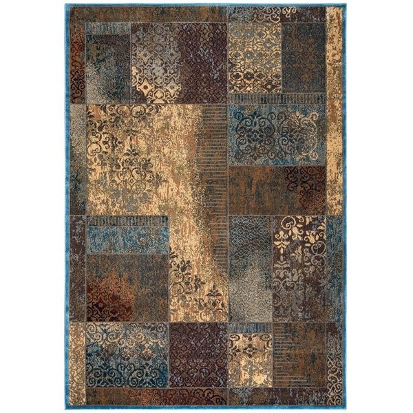 Rizzy Home Bellevue Abstract Area Rug - 5'3 x 7'7