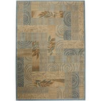 Rizzy Home Bellevue Abstract Rug (6'7 x 9'6) - 6'7 x 9'6