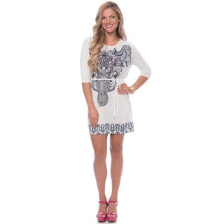 Women's Ornate Shift Dress