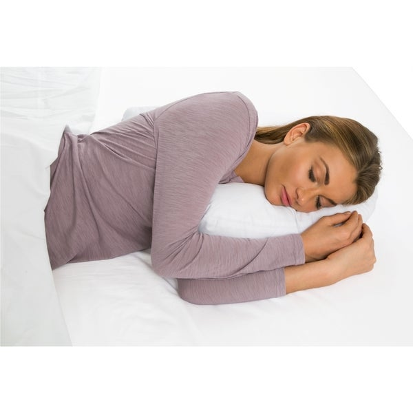 Side Sleeper Ear Hole Pillow U-shaped Anti-snoring Cover (Cover Only) -  Free Shipping On Orders Over $45 - Overstock.com - 17406577
