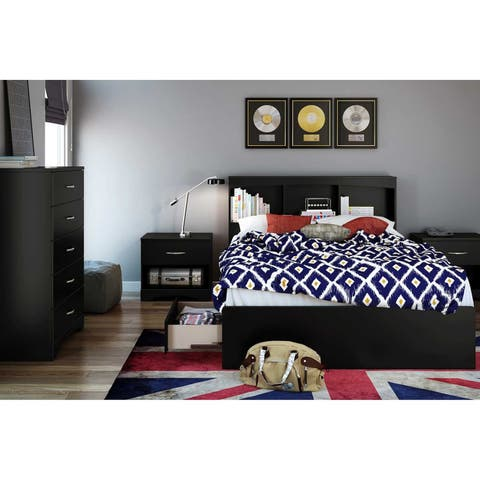 South Shore Step One Bookcase Headboard- Full
