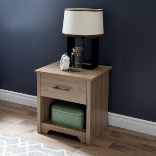 South Shore Fusion Night Stand (Option: Beige)