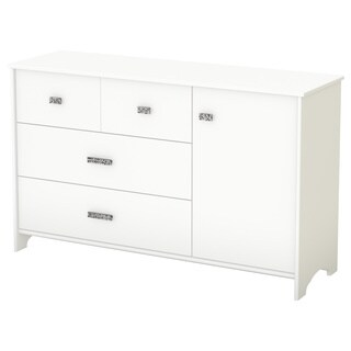 South Shore Tiara 3-drawer Dresser with Door