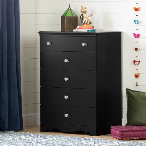 South Shore Crystal 5-Drawer Chest