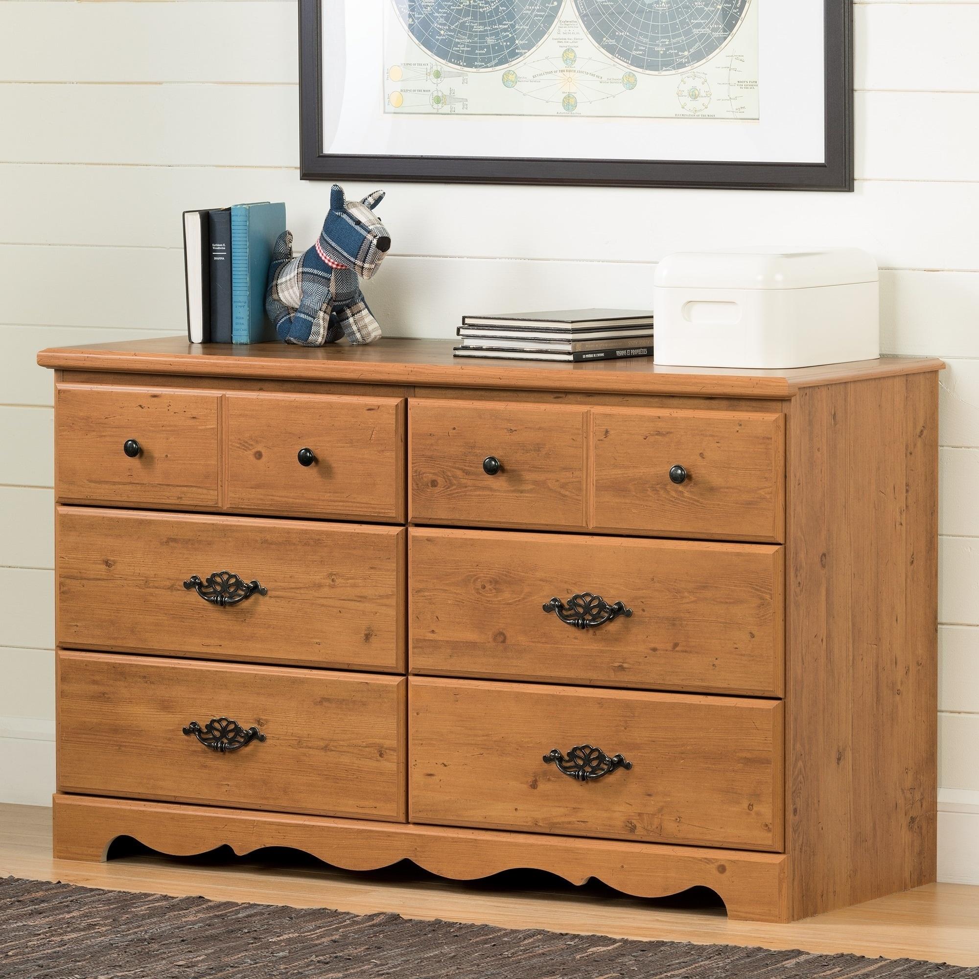 South Shore Prairie 6-drawer Double Dresser (Prairie 6-Dr...