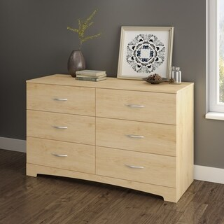 South Shore Step One 6-Drawer Double Dresser