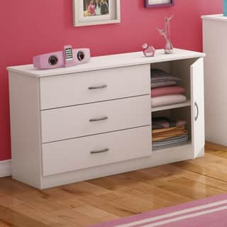 South S Libra 3 Drawer Dresser With Door