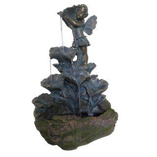 25-inch Decorative Bronze Fountain