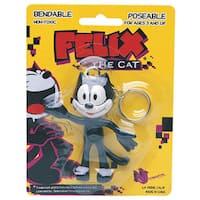 Felix The Cat Bendable Keychain