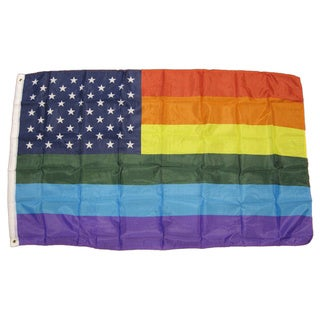 Pride 3x5 USA Rainbow Flag