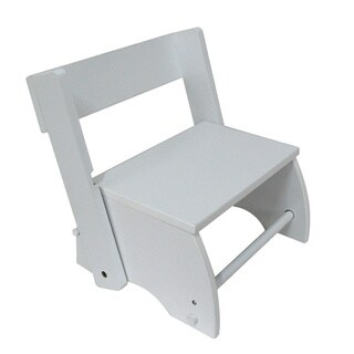 Teamson The Windsor Collection Large/White Kids Step Stool