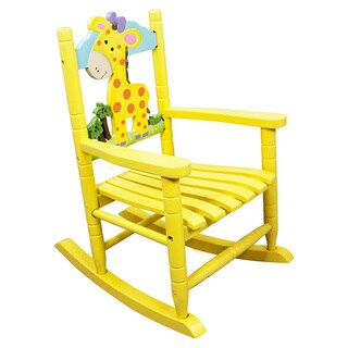 Teamson Kids- Safari Rocking Chair - Giraffe