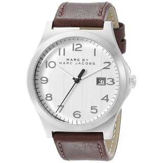 Marc Jacobs Women's MBM5045 'Jimmy' Brown Leather Watch