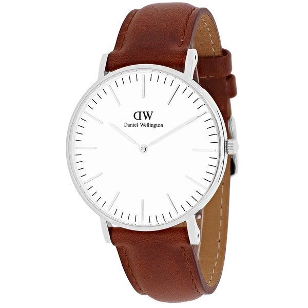 Daniel Wellington Women's 0607DW 'St. Mawes' Brown Leather Watch