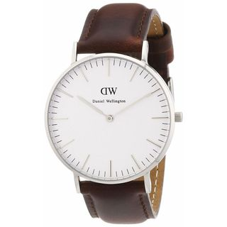 Daniel Wellington Women's 0607DW 'St. Mawes' Brown Leather Watch