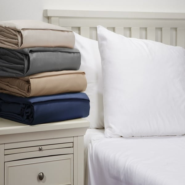 Andorra 600 Thread Count 100-percent Cotton Elegant Deep Pocket Sheet Set