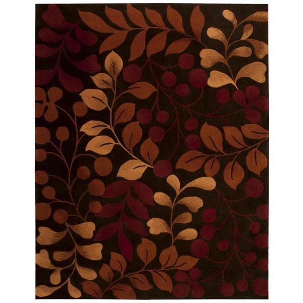 Rug Squared Marietta Chocolate Rug (7'3 x 9'3)