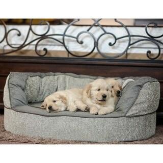 Integrity Bedding Luxury Orthopedic Memory Foam Designer Dog Pet Bed by K Guccione