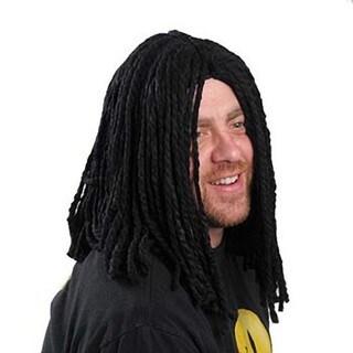 Black Dreadlocks Adult Wig