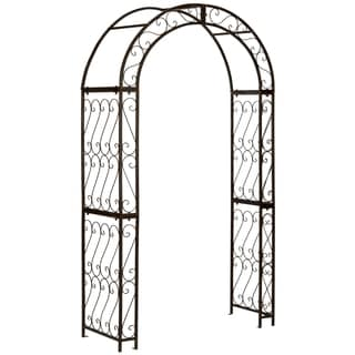 Safavieh Outdoor Living Pagan Rustic Brown Arch