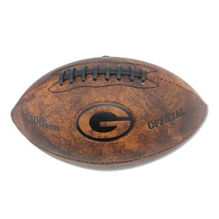 Wilson Green Bay Packers 11-inch Brown Leather Football