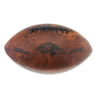 Wilson Baltimore Ravens 11-inch Brown Leather Football