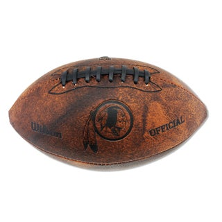 Wilson Washington Redskins 11-inch Brown Leather Football