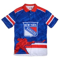 New York Rangers NHL Polyester Thematic Polo Shirt
