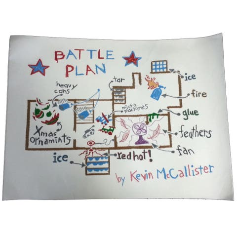 Home Alone Battle Plan Poster