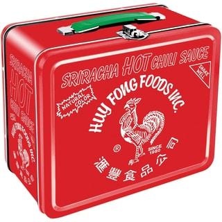 Sriracha Rooster Tin Lunch Box