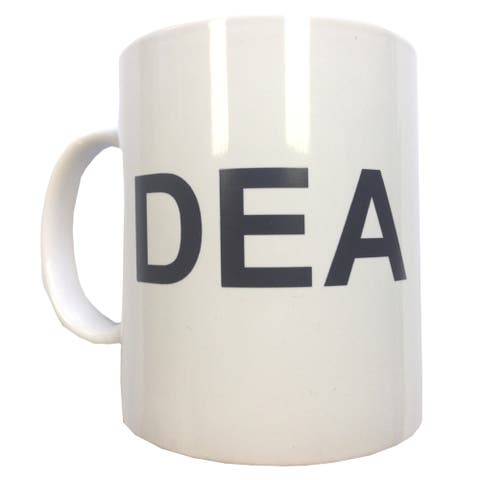 DEA Ceramic Coffee Mug