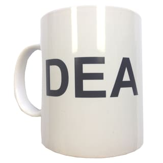 DEA Ceramic Coffee Mug