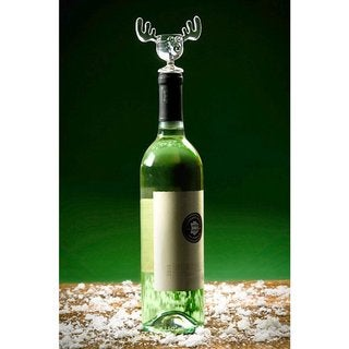 Link to Christmas Vacation Griswold Moose Mug Wine Bottle Stopper Similar Items in Unique Gift Baskets & Sets