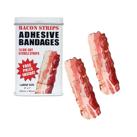Bacon Strips Band-aids