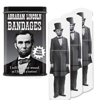 Abraham Lincoln Band-aids|https://ak1.ostkcdn.com/images/products/10292842/P17407075.jpg?impolicy=medium